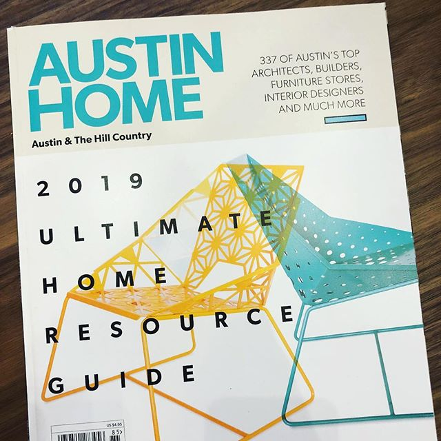 See us in the Austin home 2019 resource guide! #austinhome #modernpool