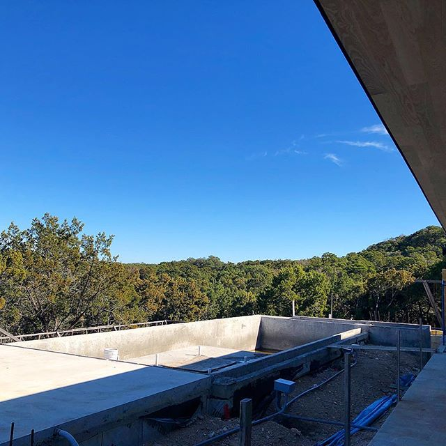 Pool underway on our @dc_architecture @scc_group_atx project