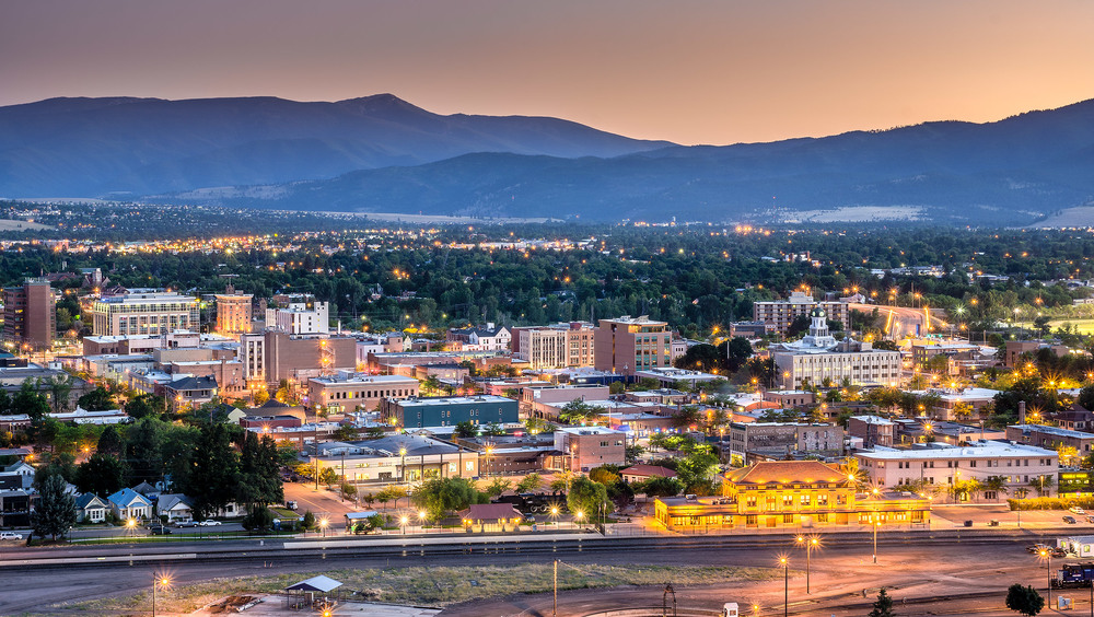 Downtown Missoula, Montana