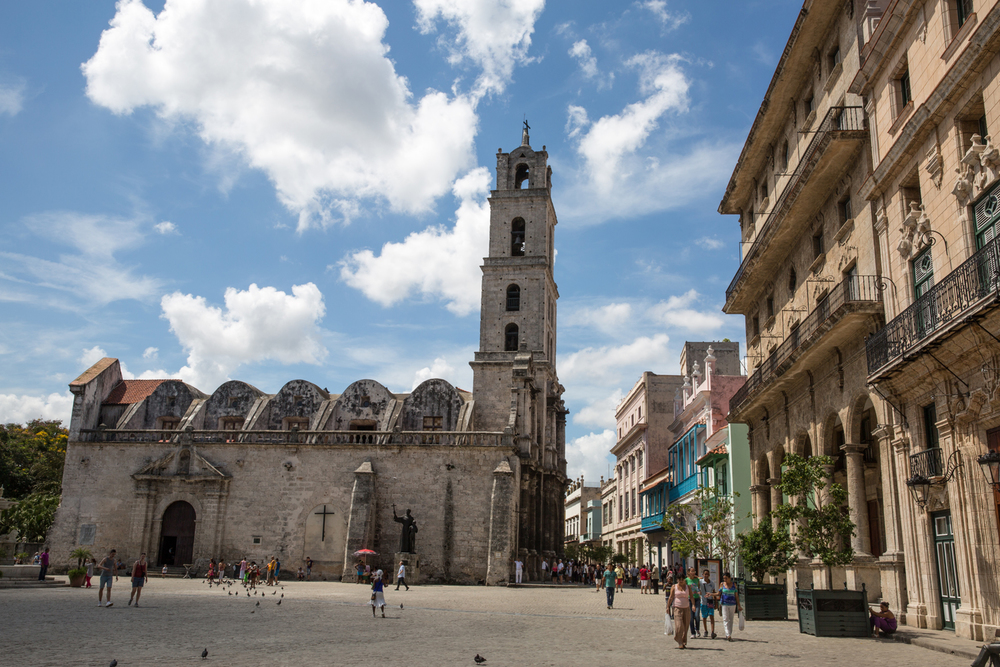 Iglesia de San Francisco de Asis.Havana, Cuba, August 2015.