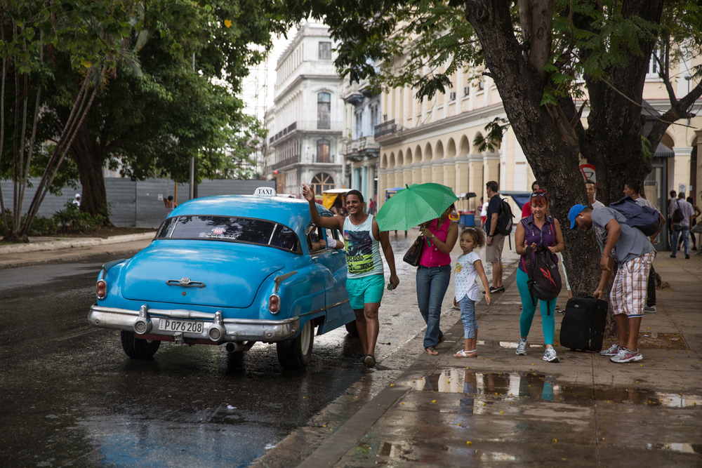 Taxi Colectivo. Havana, Cuba, August 2015.