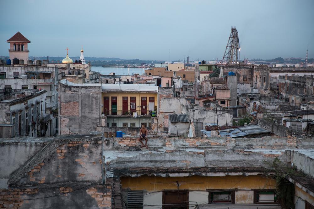 Havana rooftops.Havana, Cuba, August 2015.