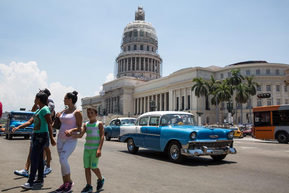 El Capitolio.Havana, Cuba, August 2015.