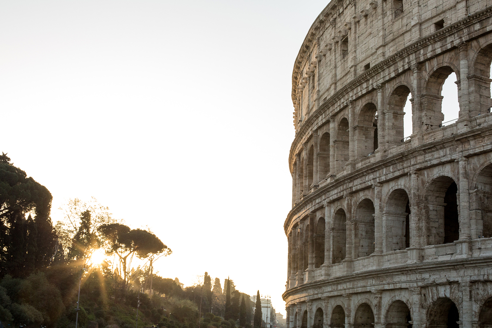 Colosseum Sunrise, Rome, Italy