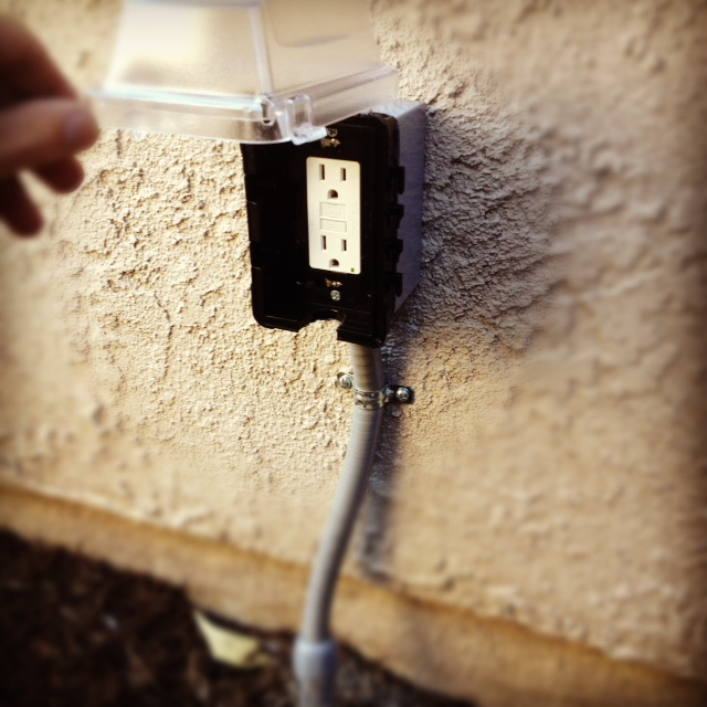 New Outdoor Outlet
