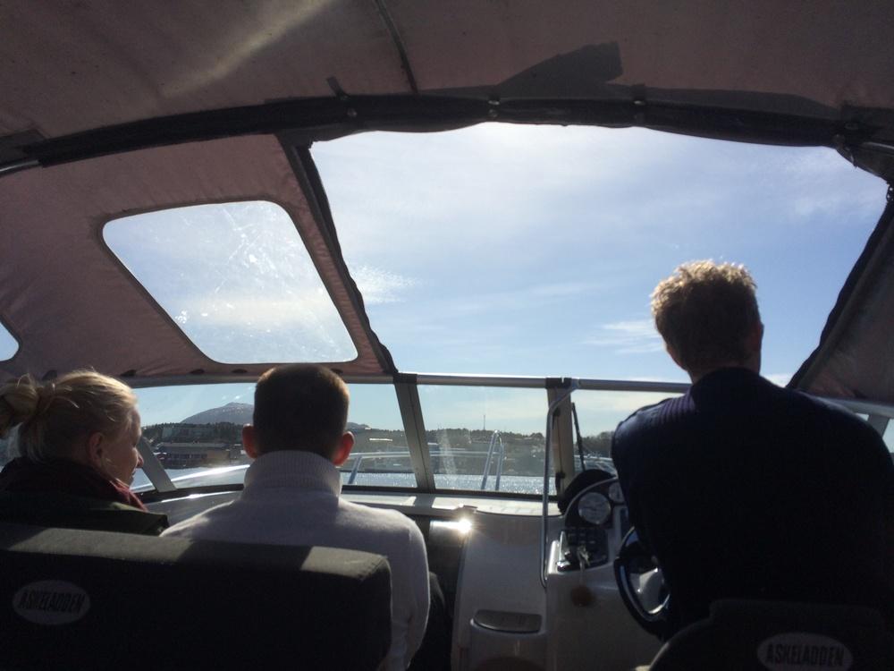 båttur til Seilerhytta