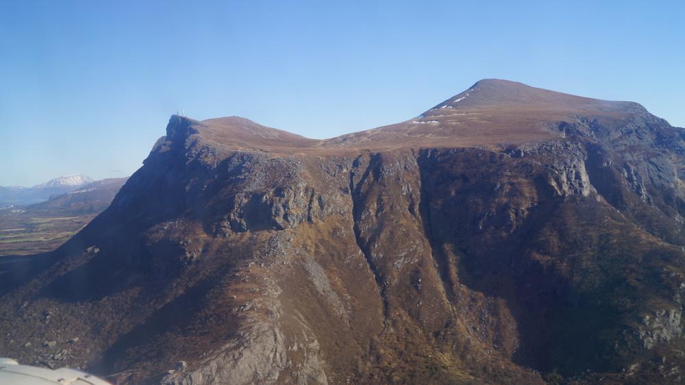 Et fint fjell, hadde jeg bare fått med meg hva det heter (a)