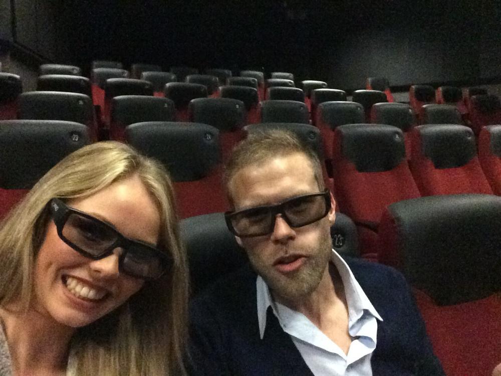 Alltid like gøy å ta selfie med 3D briller;P