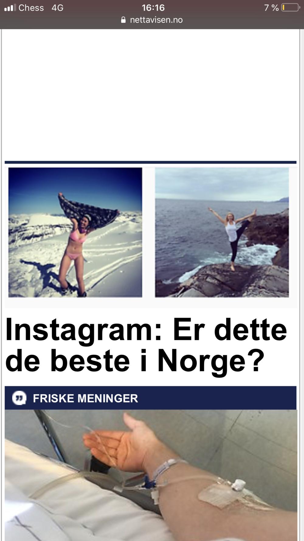 Norges beste Instagram
