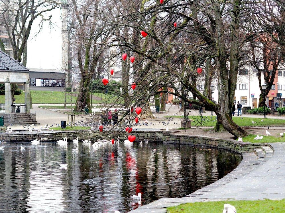 Stavanger by, hjertetre