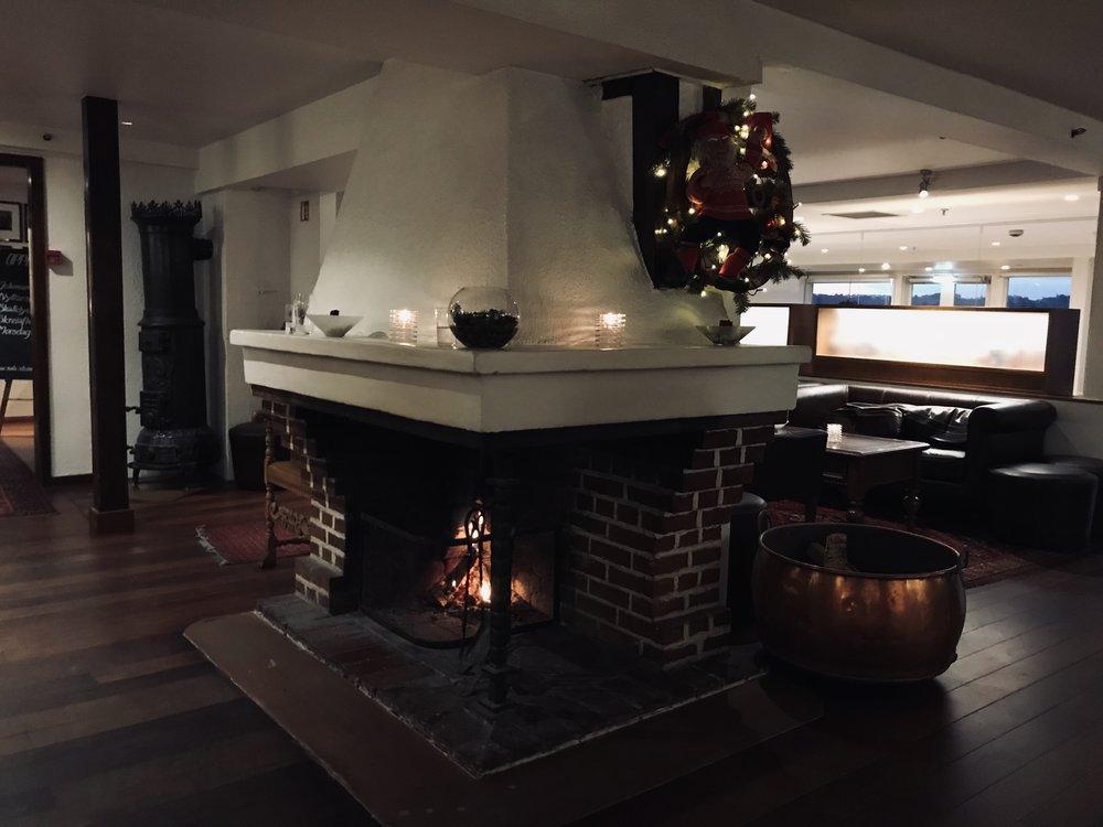 julestemning på Sola strandhotell, Stavanger