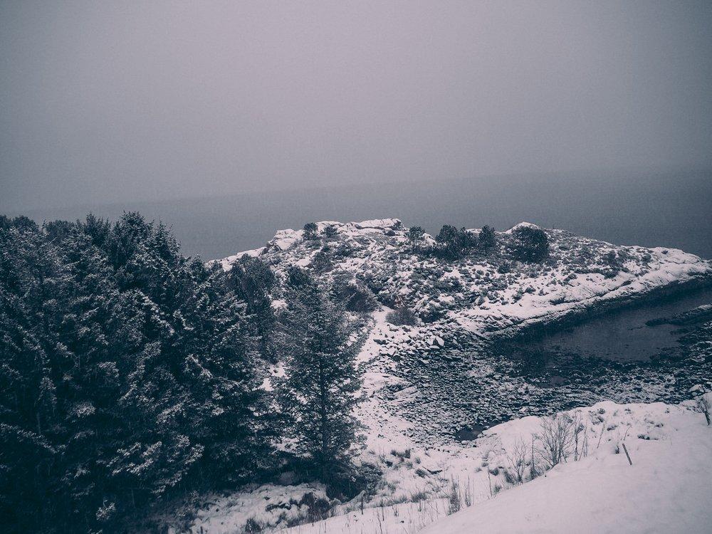 snølandskap