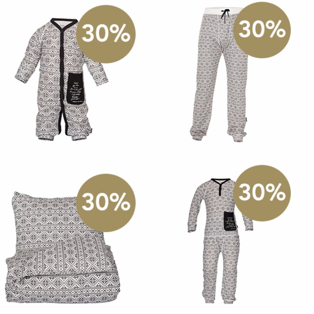 påsketilbud på matchende produkter og sengetøy fra lilleba og herremann.