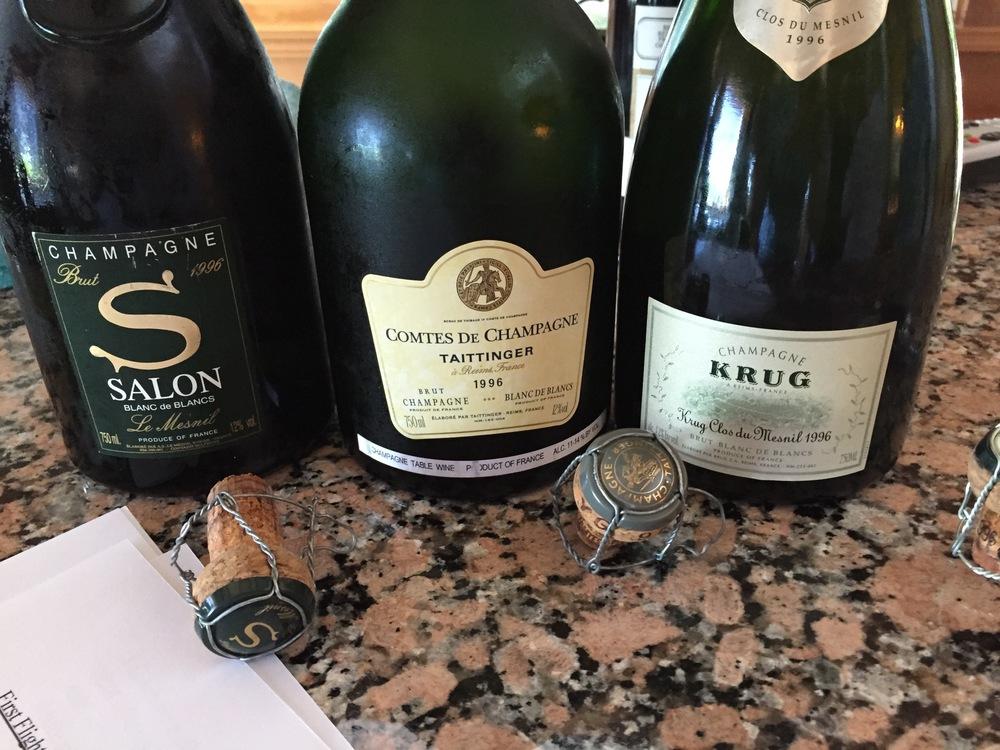 1996 Prestige Tasting — Ambonnay