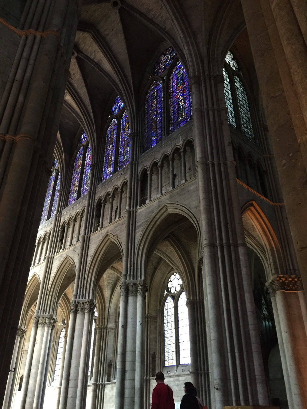 A random photo of the Cathedral of Reims, the Gimmonet visit was light on pictures, but this post needed to be broken up a bit.