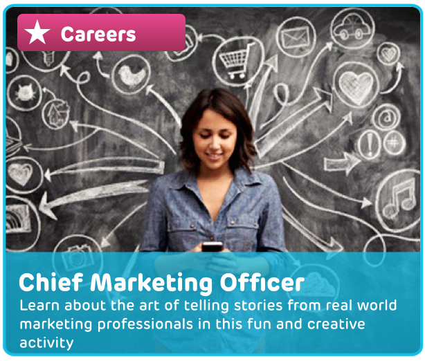 Career: Chief Marketing Officer Digital Activity