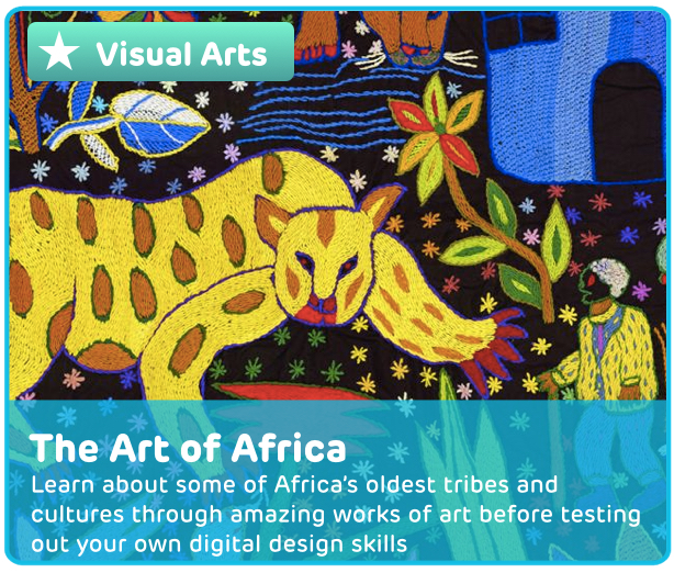 African Art Digital Activity