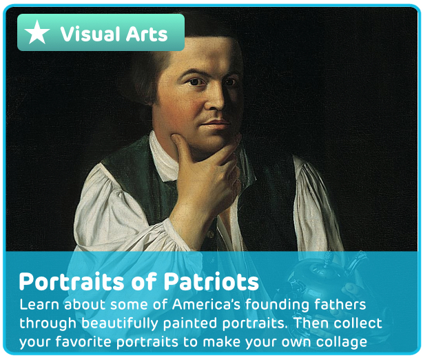 American Patriot Portraits Digital Activity