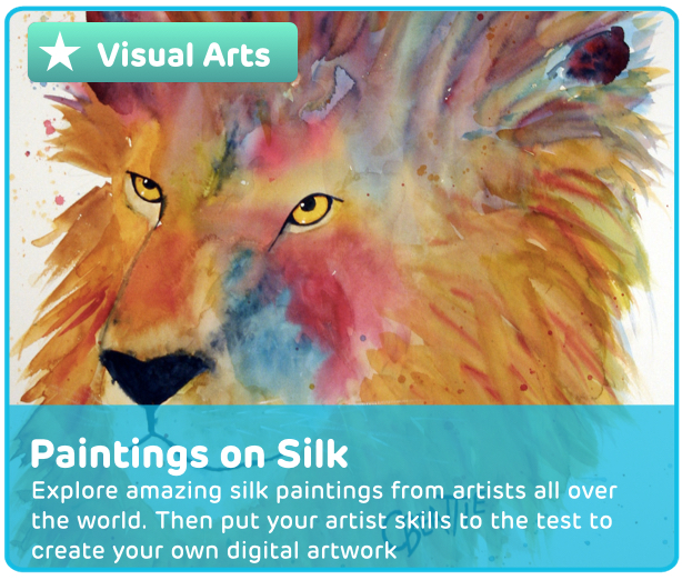 Silk Paintings Digital Activity