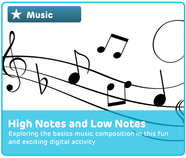 Music Reading Digital Activity