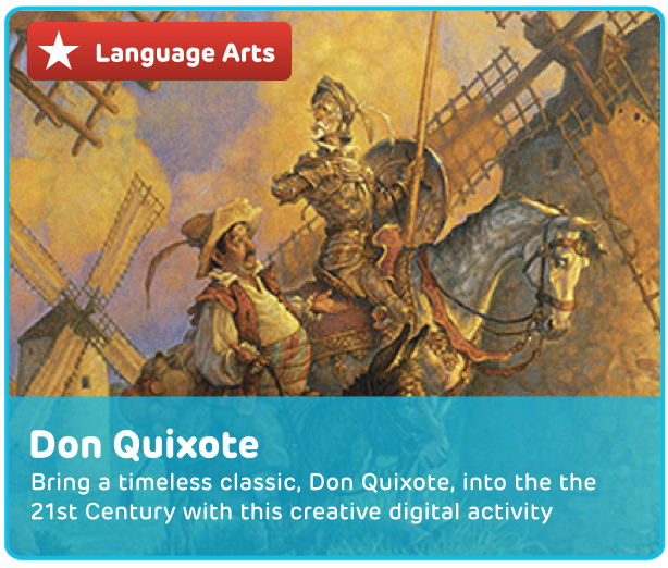Don Quixote Digital Activity