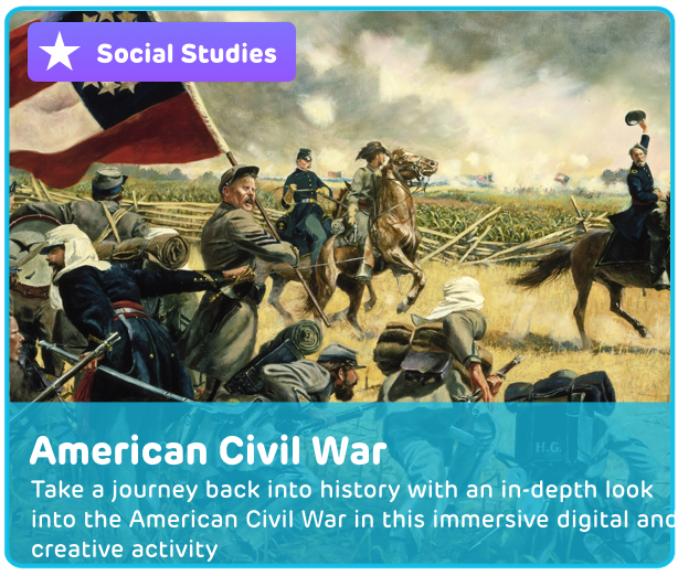 American Civil War Digital Activity