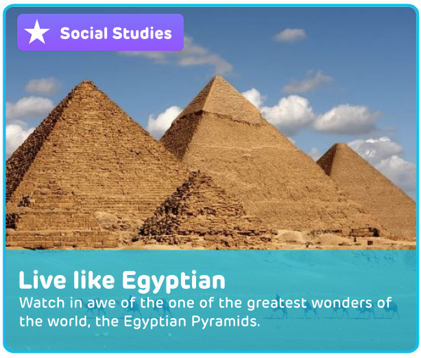 Egyptian Pyramids Digital Activity