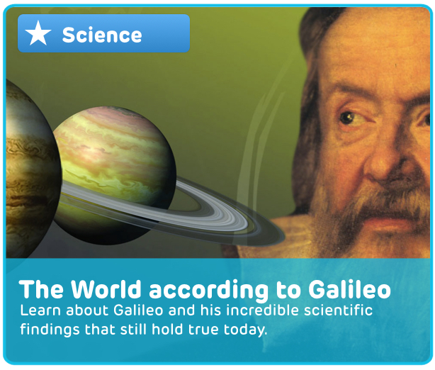 Galileo Planets Digital Activity