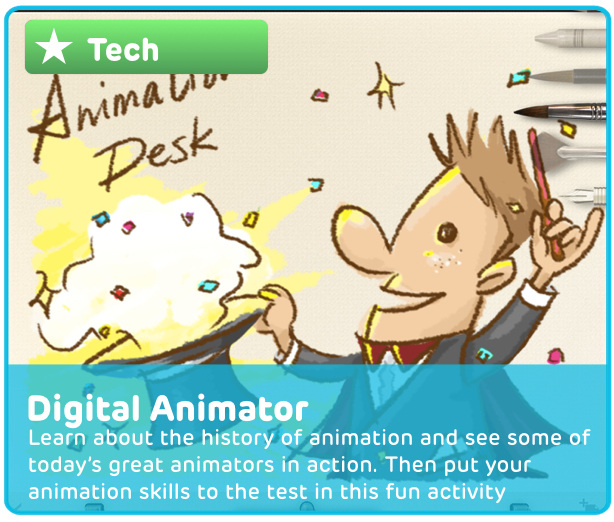 Digital Animation Creative Activity