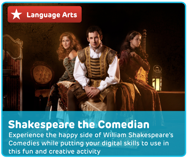 William Shakespeare's Comedies Digital Acitivity