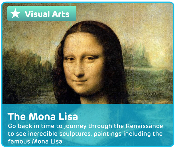 The Mona Lisa Digital Activity