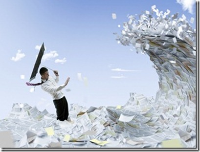 email communication overwhelmed