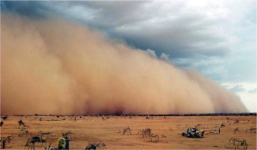 Sand Storm Winds