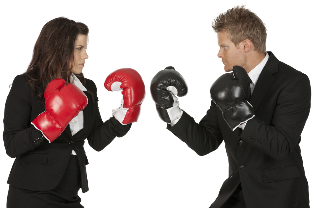 Anger Conflict fight gloves boxing