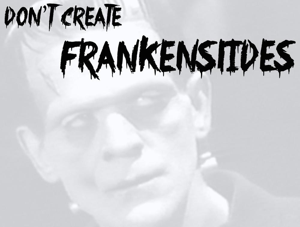 FrankenSlide Slide Ugly Presentation