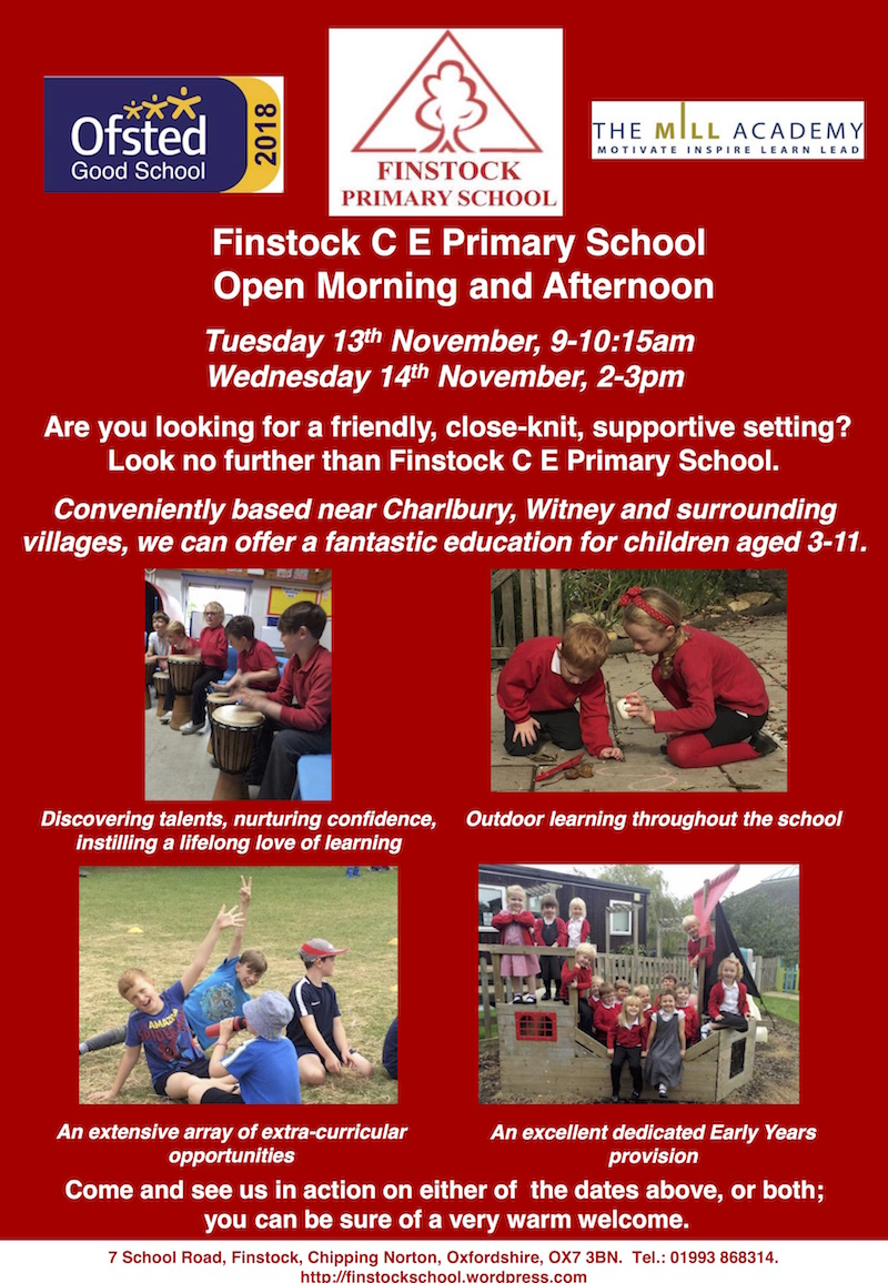Open Day Finstock School 2018.jpg