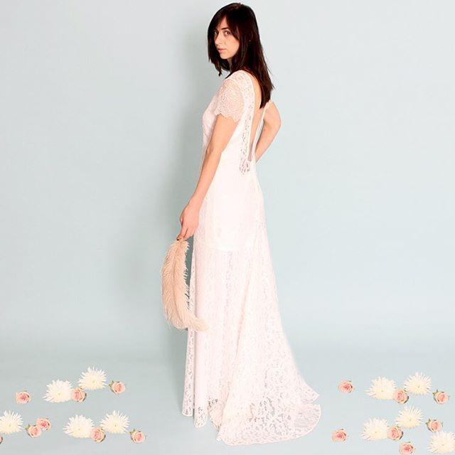 The Kalani #weddingdress designed for the laid back #boho #bride