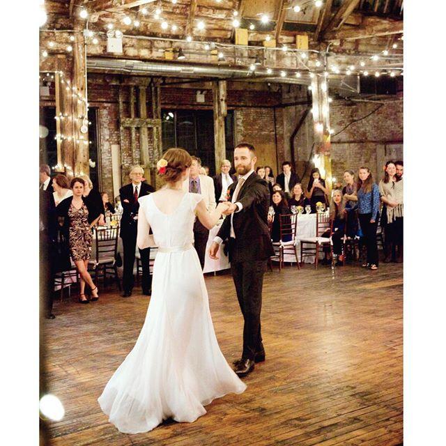 Beautiful movement of a client in her custom Dahl silk chiffon #weddingdress  #bride #bridetobe #bohobride #bohowedding #brooklynbride