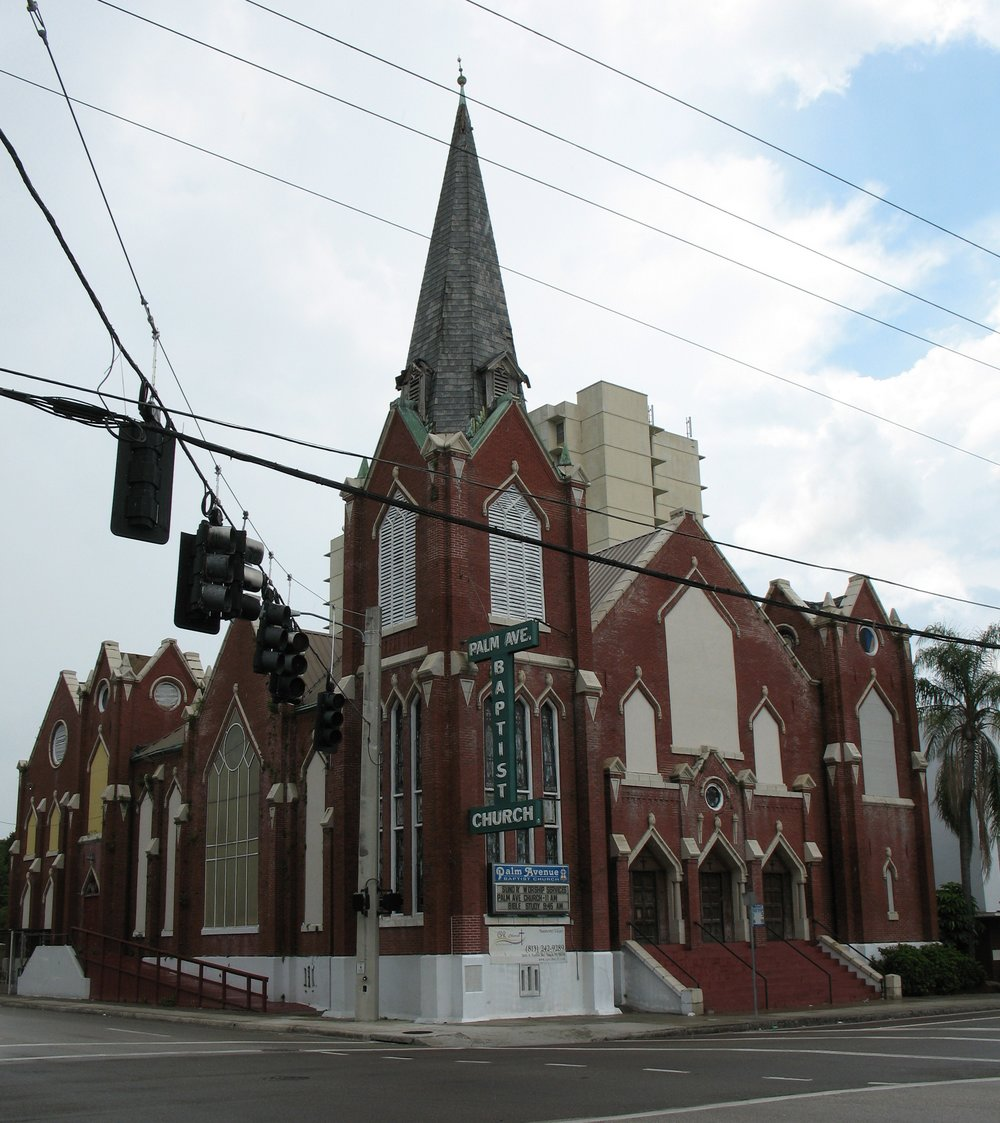 The historic palm ave baptist church