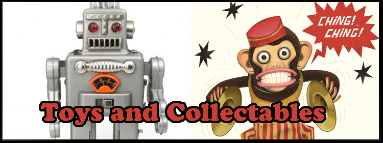 Vintage toys and collectables.
