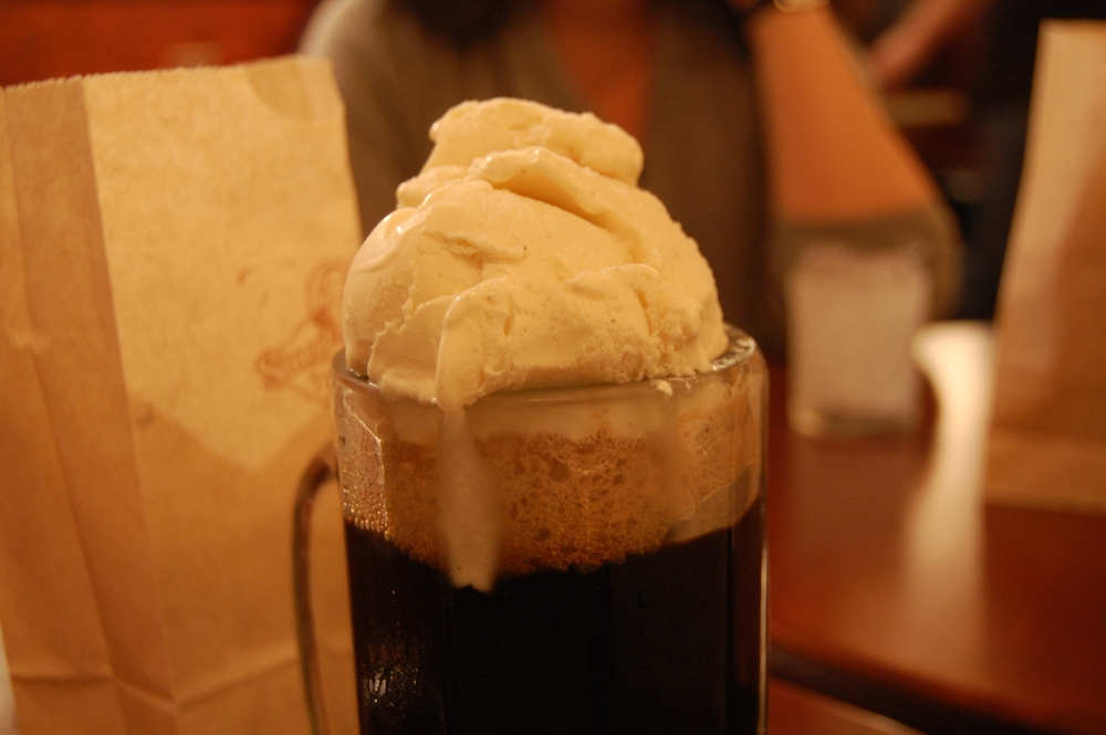 Root Beer Float.  Photo by Stuart Spivack.