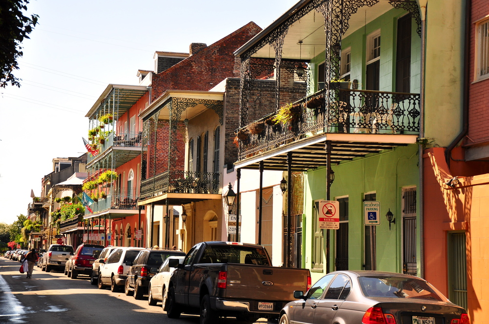 You couldn't be closer to the French Quarter.