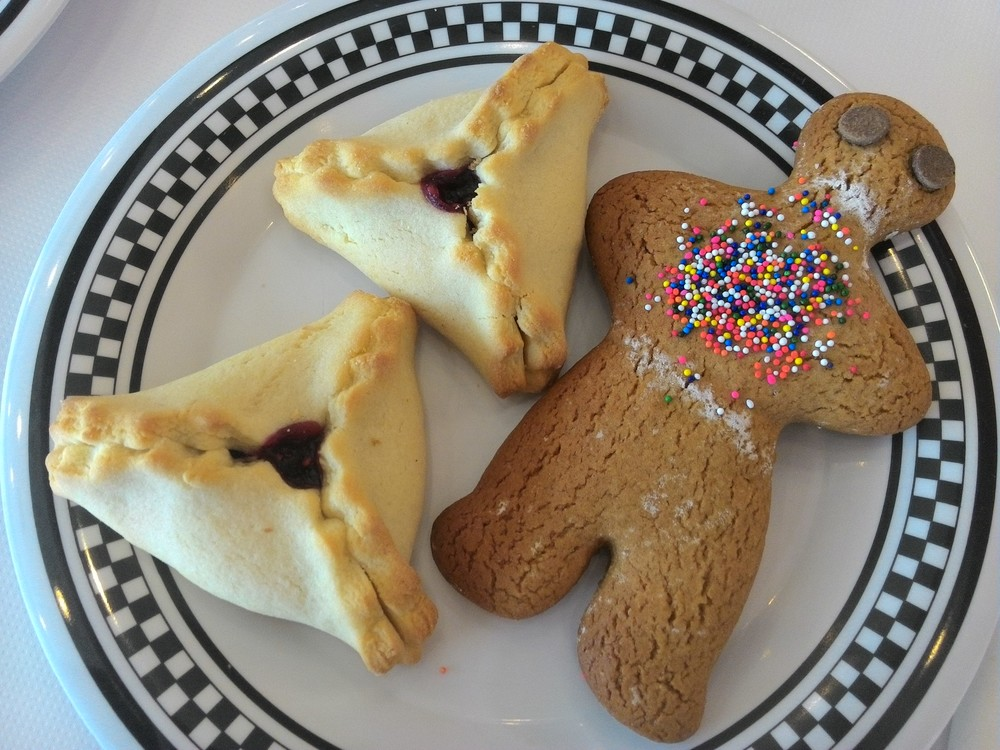 Gingy is good but hamantaschen are better.