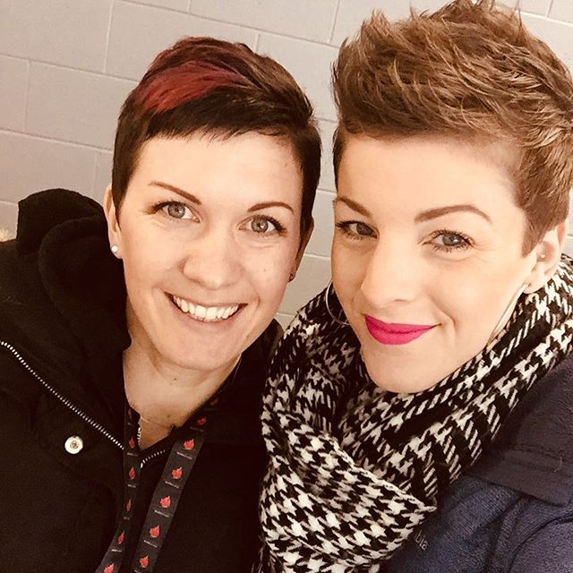 BEYOND proud of this rockstar. Currently sitting in the stands, ready for @lizzy_99 to take the ICE and SKATE in a competition. Strength and beauty! Go kill it, mama. #strongasamother #skate #skatecanada #figureskating #kingston #ontario #roadtrip #besties #bestie 💪❤️👯