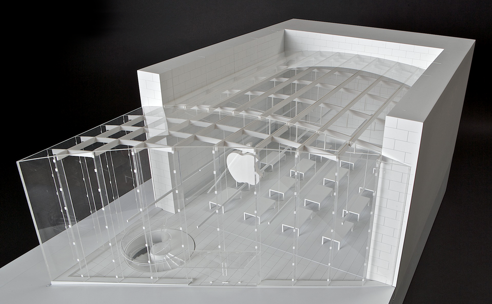 ARCHITECTURAL MODELS - Apple Store - Broadway NYC
