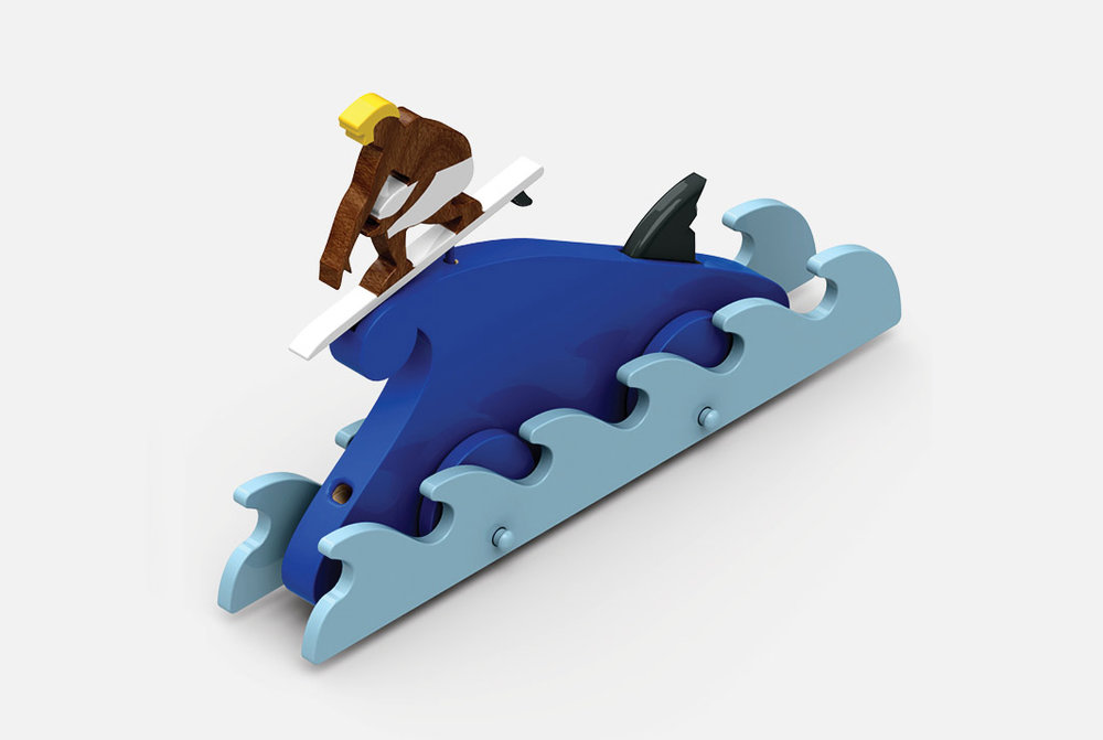 SWELL - PULL TOY PROTOTYPE
