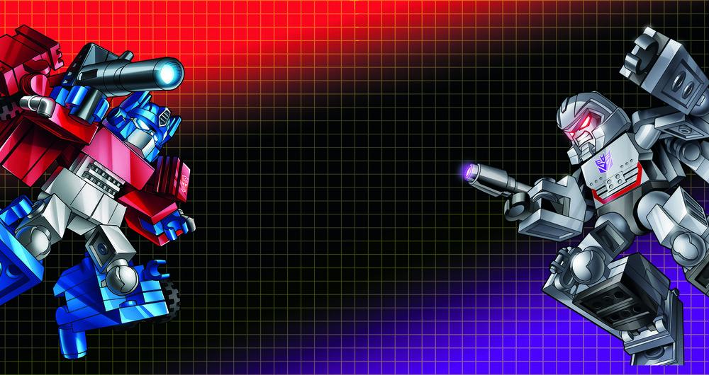 OPTIMUS VS MEGATRON - BATTLE-CHANGERS