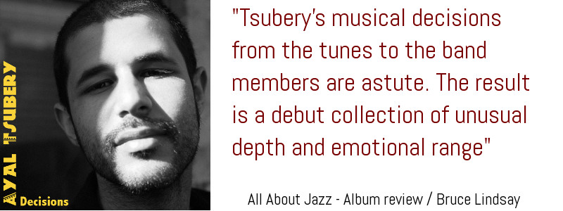 "All About Jazz ""Decisions"" Review - Bruce Lindsay"