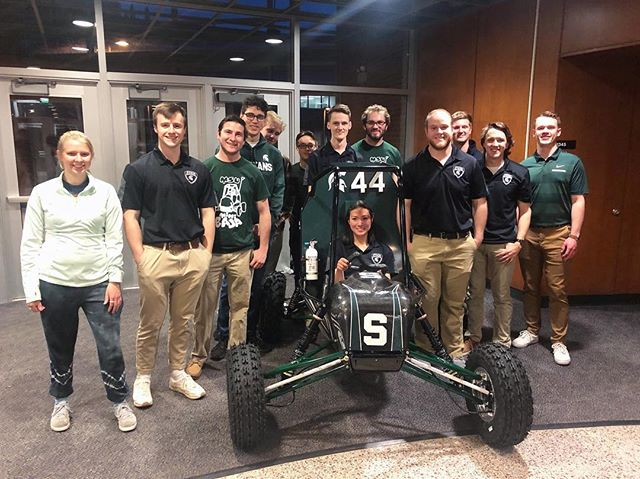 The Michigan State Baja Racing Team is happy to indroduce SR-19, Luna! Huge thank you to all of our sponsors who made this possible and to everyone who came out to our unveiling last night! We are excited to get to the test track!