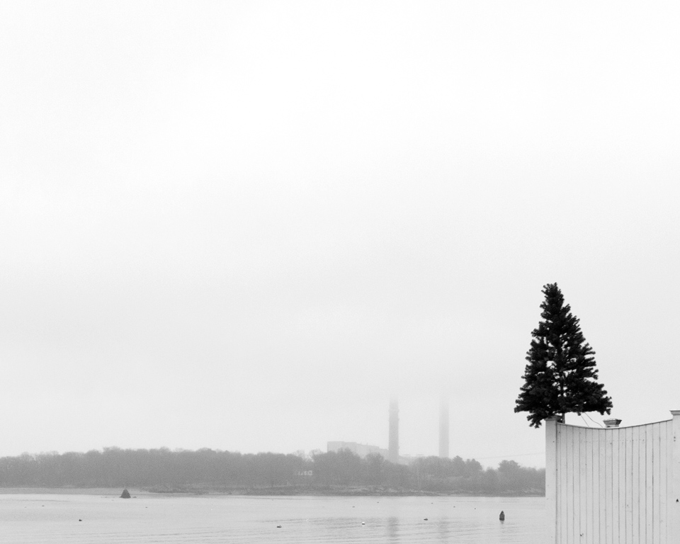 Little Tree & Salem Power Plant taken from Beverly, MA | 2012